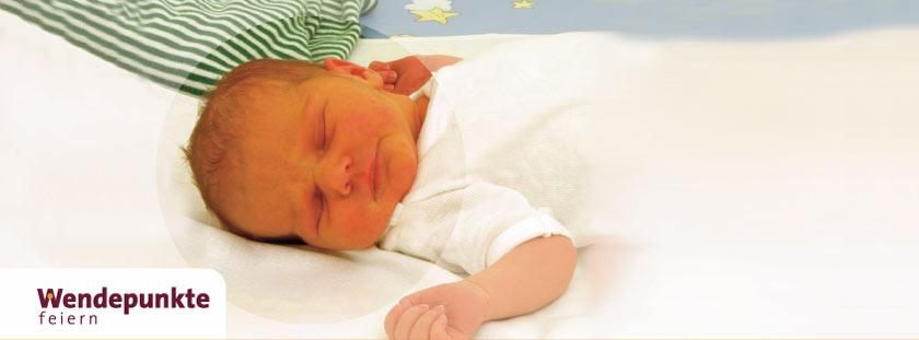 Geburt eines Kindes